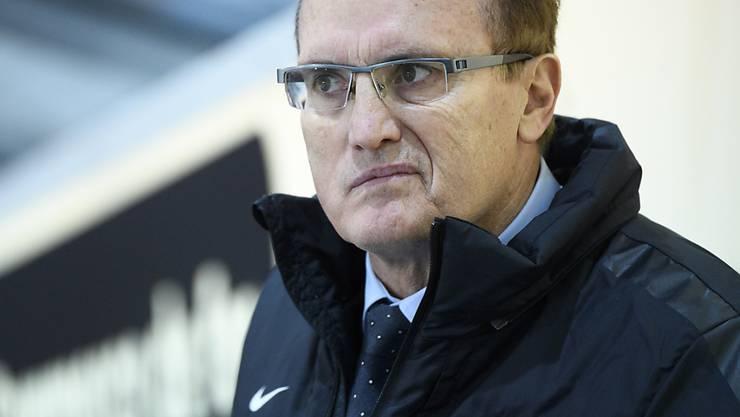 Larry Huras muss die Entlassung bei Fribourg-Gottéeron hinnehmen