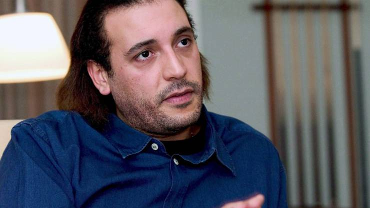 Hannibal al-Gaddafi, als er sich noch für unangreifbar hielt und den Pascha spielen konnte (in einer Aufnahme von 2015 in Kopenhagen).