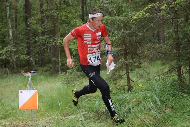 Daniel Hubmann gewann drei Medaillen an den letzten Weltmeisterschaften in Lettland. (SWISS ORIENTEERING/Remy Steinegger)