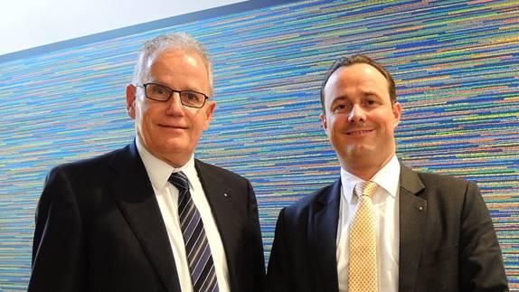 Bruno Renggli (links) ist von Marc Hunsperger abgelöst worden. -rr-