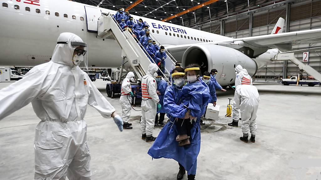 Coronavirus: 16 neue Fälle in China - Angst vor «Importen»