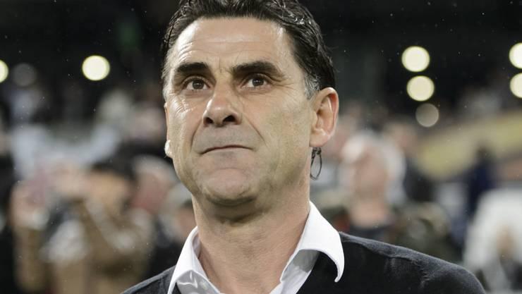 Didier Tholot muss seine Mannschaft gegen Bordeaux aus der Ferne steuern