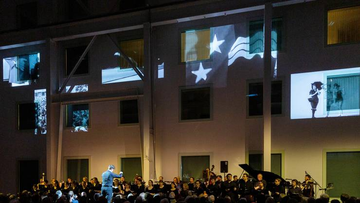 Bei der 50-Jahre-Feier war die Welt des Aargauer Kuratoriums noch in Ordnung. Jetzt gibt der Verdacht auf Vetterli-Wirtschaft zu reden.