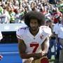 Kniend ins Abseits: Quarterback Colin Kaepernick findet kein Team mehr in der NFL