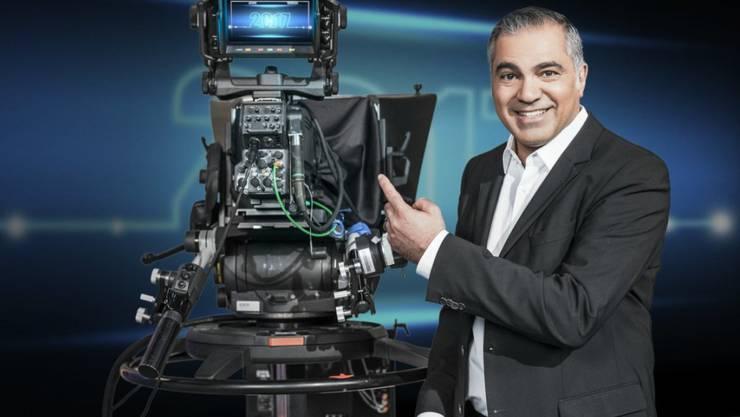 Die Fernsehgruppe ProSiebenSat1 - im Bild Galileo-Moderator Aiman Abdallah - kämpft mit sinkenden TV-Werbeeinahmen. (Archivbild)