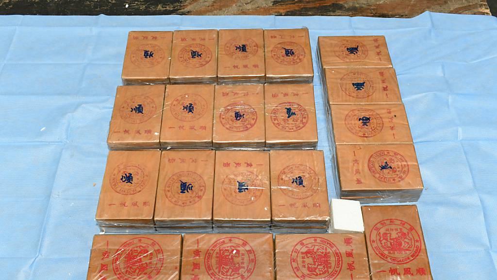 Neuer Rekord: Australische Polizei beschlagnahmt 450 Kilogramm Heroin