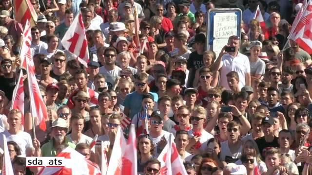 Jurafrage: Moutier sagt Ja zum Kanton Jura