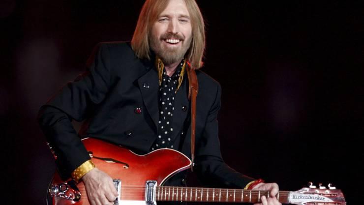 US-Musiker Tom Petty starb im Oktober 2017 im Alter von 66 Jahren. (Archivbild)