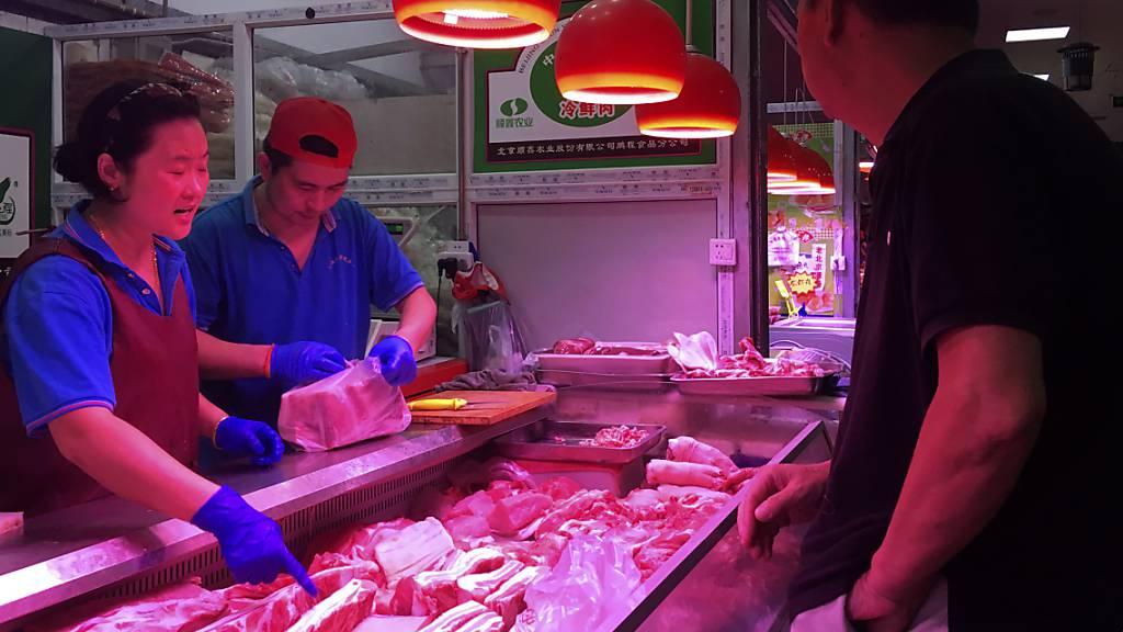 Inflation in China auf Acht-Jahres-Hoch