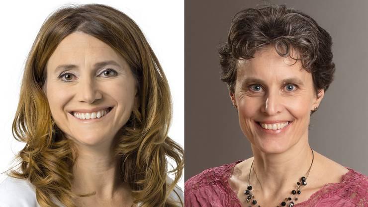 Manuela Misteli-Sieber (li.) und Priska Gnägi-Schwarz.