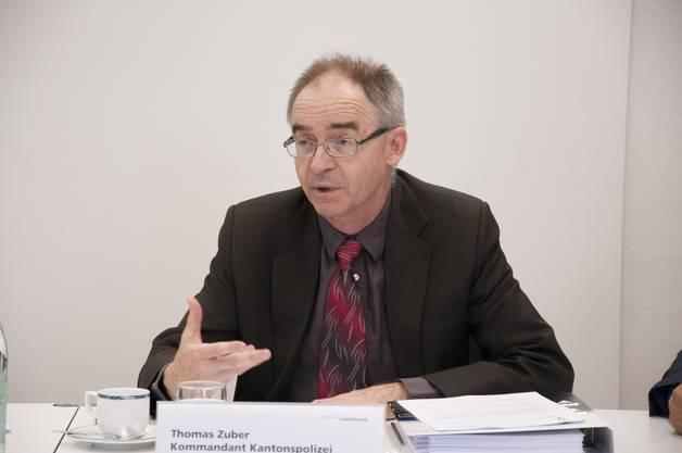Thomas Zuber Kommandant Kantonspolizei: «Es gilt, immer die Balance zu finden zwischen dem Vorbereiten auf Undenkbares und Ausnahmesituationen und einem übertriebenen Sicherheitsdenken.»