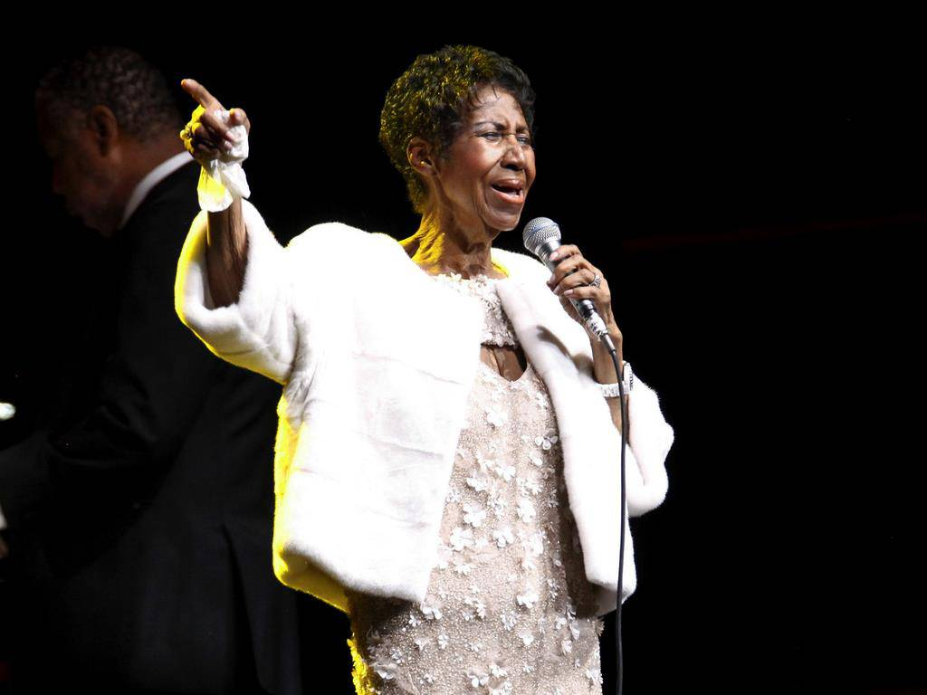Soul-Sängerin Aretha Franklin