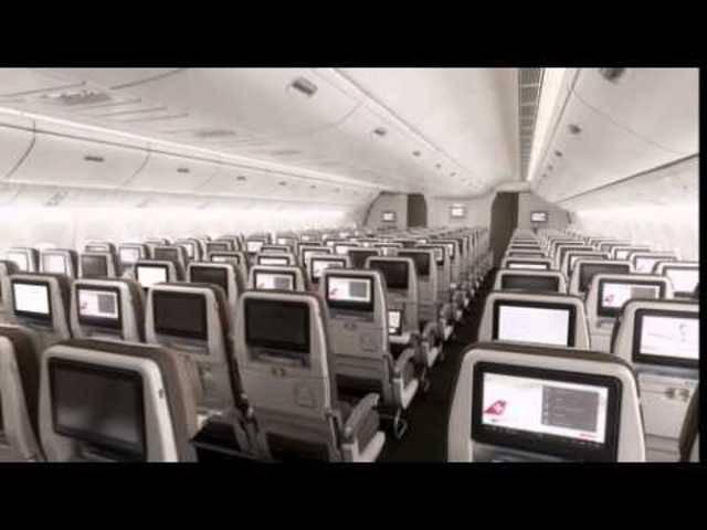 Rendering SWISS Boeing 777-300ER