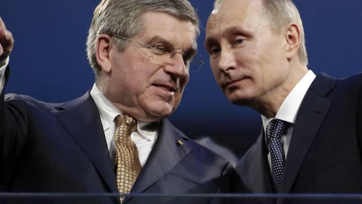 Die unheilvolle Silschaft: Thomas Bach, Wladimir Putin