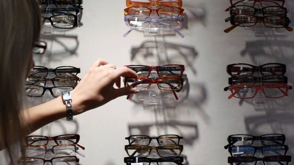 Optiker Fielmann wächst (Archvbild)
