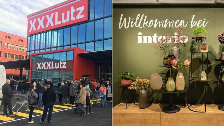 In kürzester Zeit eroberte XXXLutz einen beträchtlichen Teil des Schweizer Marktes. Nun ergatterte der Konzern auch sechs Interio-Filialen.
