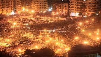 Human Rights Watch fordert mehr Unterstützung für die Demokratiebewegungen in Nordafrika. Demonstrationen auf dem Tahrir-Platz in Kairo (Archiv)