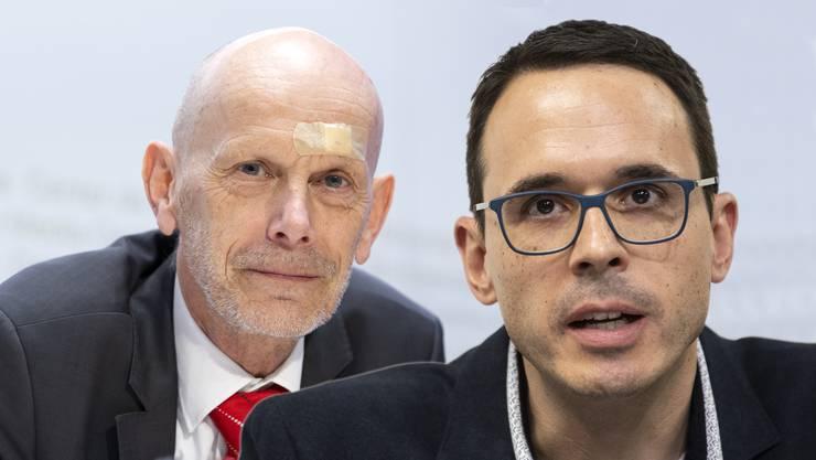 Stefan Kuster tritt beim BAG in grosse Fussstapfen: Daniel Koch leitete die Abteilung Übertragbare Krankheiten zwölf Jahre lang.