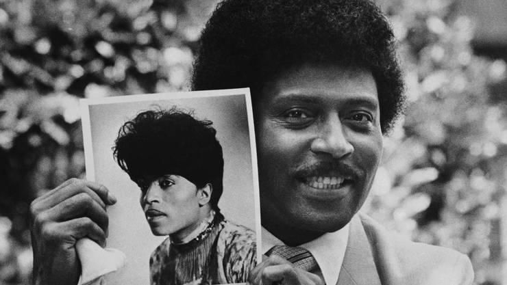 Rock n'Roll-Legende Little Richard 1981 in Los Angeles