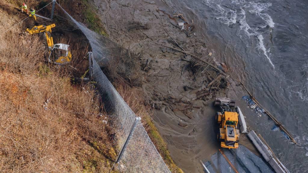 Katastrophenregionen ziehen erste Schadensbilanzen
