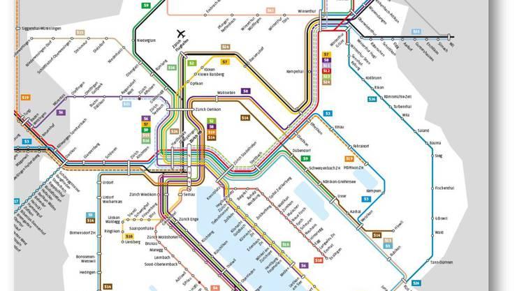 Der neue S-Bahn-Linienplan