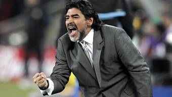 Maradona in die Wüste