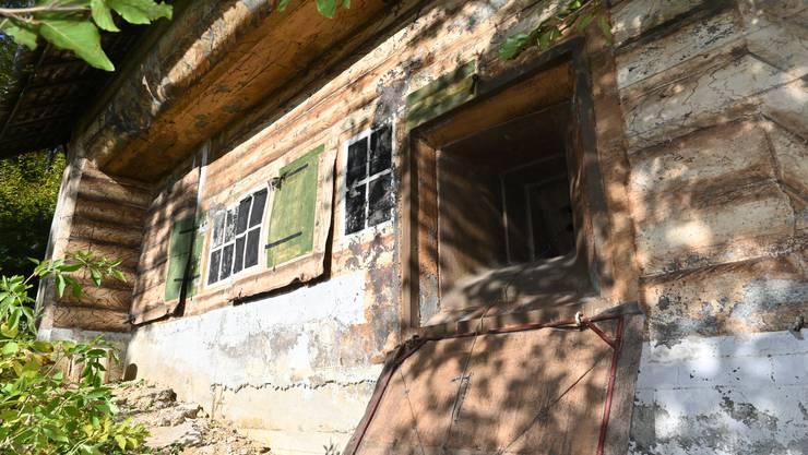 Falsches Chalet: Was von Weitem wie ein Wochenend-Häuschen ausschaut, ist in Wirklichkeit ein getarnter Bunker aus dem Zweiten Weltkrieg, genannt «Rüblikeller».