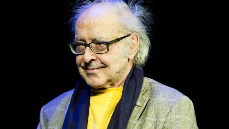"""Am Dienstag startet das Filmfestival in Cannes: Der französisch-schweizerische Filmemacher Jean-Luc Godard steigt mit """"Le livre d'images"""" ins Rennen um die Goldene Palme. (Archivbild)"""