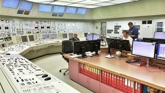 Erinnert ein bisschen an die 60er-Jahre-Serie «Star Trek»: Die Kommandozentrale des Atomkraftwerks Beznau im Aargauischen Döttingen, das die Schweiz seit 1969 mit Energie versorgt.
