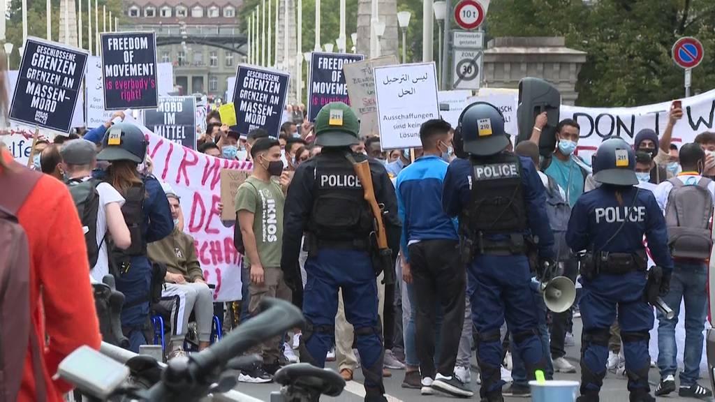 Die Demonstrationen gehen weiter