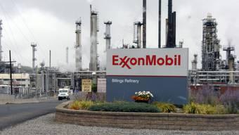Eine Ölraffinerie des US-Konzerns Exxon in Billings im US-Bundesstaat Montana. (Archivbild)