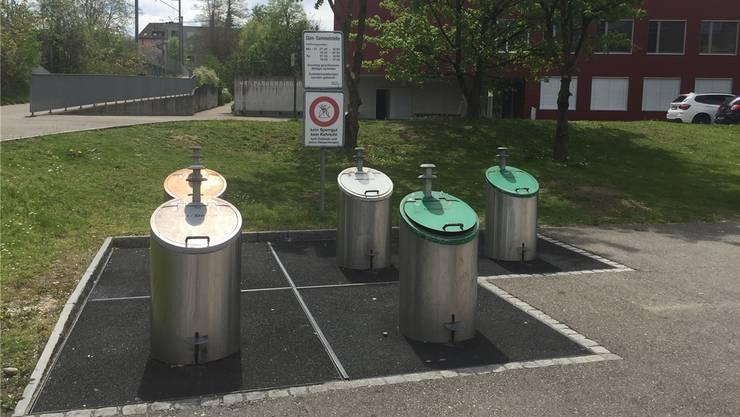 In Bremgarten ist jederzeit online abrufbar, ob der Weissblech- container nächstens geleert werden muss. Bild: zvg