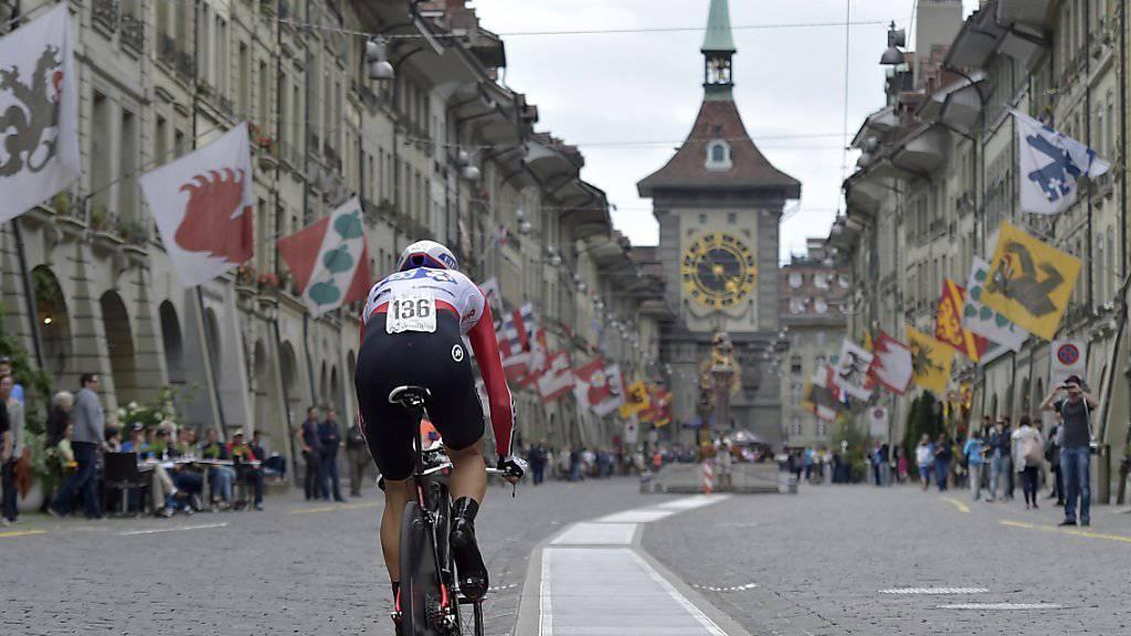 Der Berner Zytgloggeturm bildete letztes Jahr die Kulisse für die Tour de Suisse - und in diesem Jahr für die Tour de France.