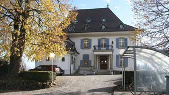Die Haushaltungsschule Hohenlinden in der ehemaligen Villa.