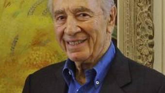 Präsident Schimon Peres auf USA-Reise