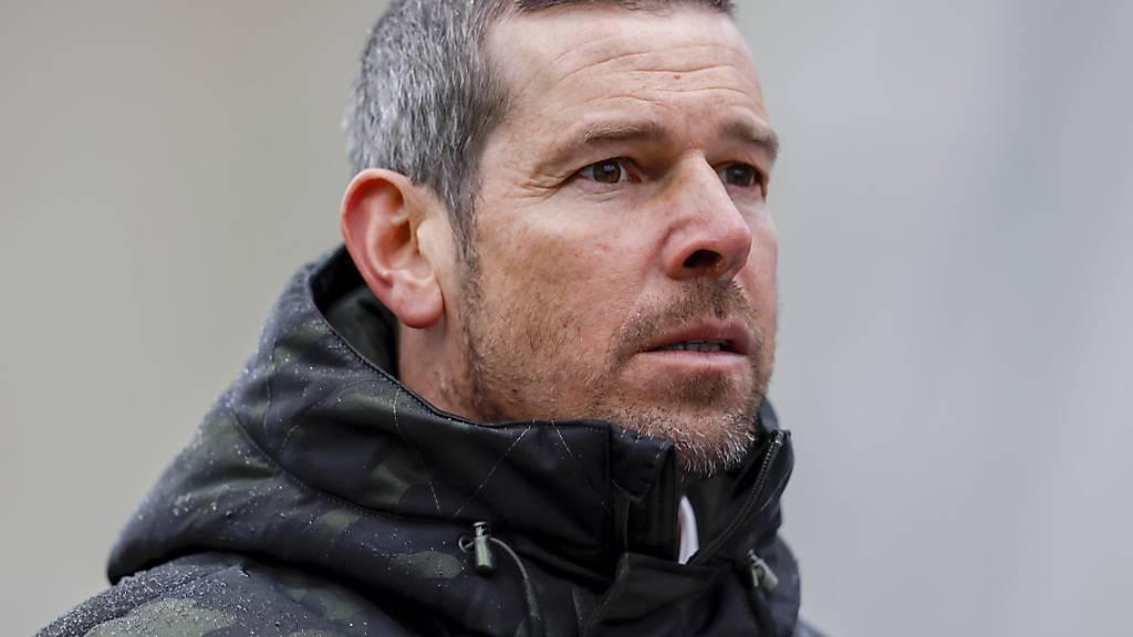 Cheftrainer Mario Frick stemmt sich mit seinen Vaduzern mit aller Kraft gegen den Abstieg