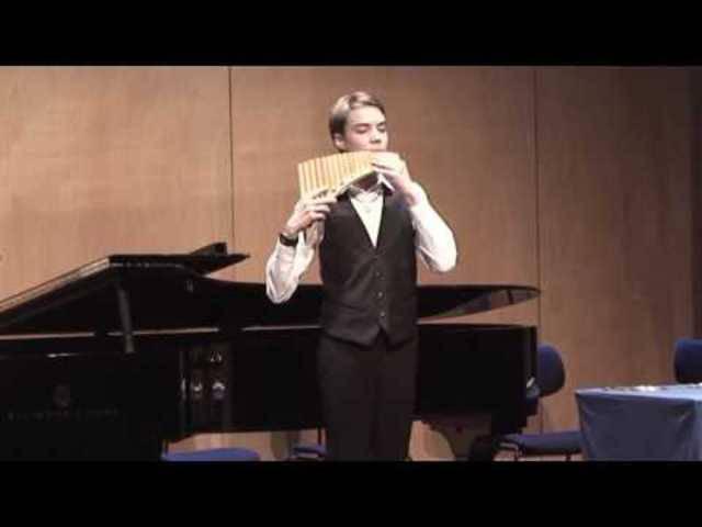 Taras Berchtold am Aargauer Musikwettbewerb 2016