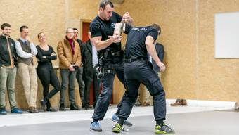 Einweihung neues Ausbildungsgebäude der Kantonspolizei Zürich im Reppischtal in Birmensdorf