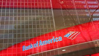 Bank of America-Filiale in New York