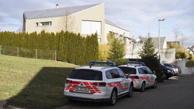 ...das Haus des erschossenen Anwalts Martin Wagner.