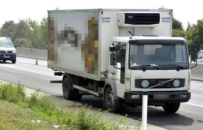 Entdeckt wurde der Lastwagen von einem Mitarbeiter des Strassenbetreibers Asfinag.