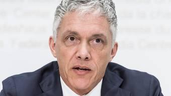 Bundesanwalt Michael Lauber ist mit einem Revisionsgesuch bei der Berufungskammer des Bundesstrafgerichts abgeblitzt. (Archivbild)