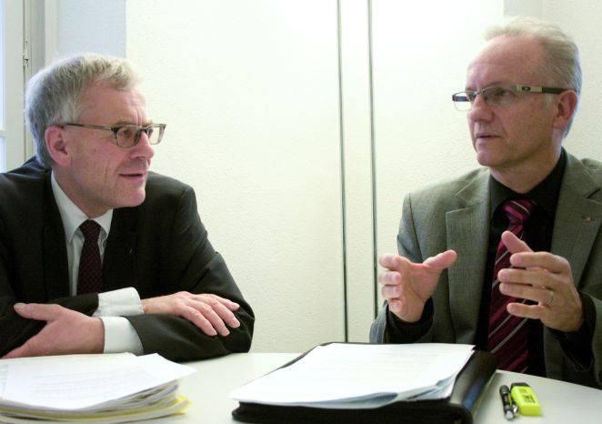 Kurt Fluri und Martin Blaser zur Grossfusion im Raum Solothurn