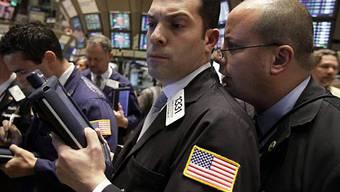 Händler an der NYSE, der New Yorker Stock Exchange (Archiv)