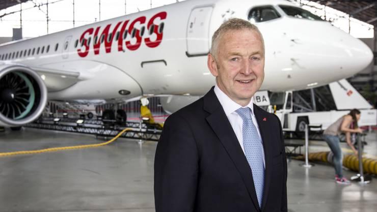 Swiss-Chef Thomas Klühr plant ein neues Piloten-Projekt. (Archivbild)