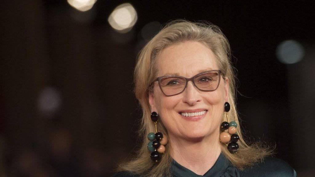 Meryl Streep hat Mühe, falsch zu singen
