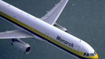 Airbus A321 der Monarch Airlines