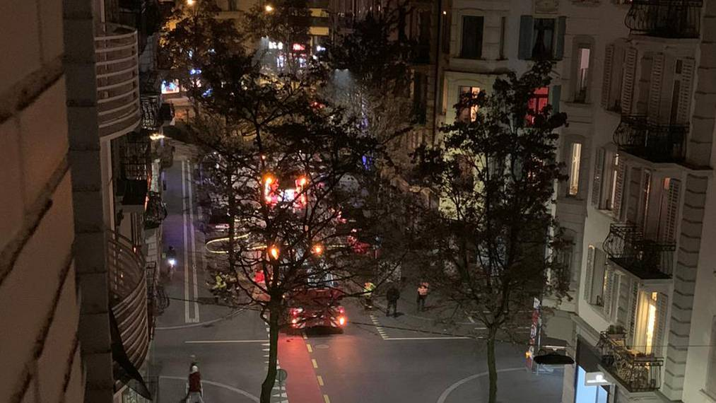 Feueralarm sorgte für Strassensperrung in der Neustadt
