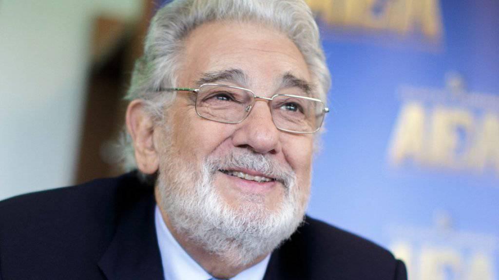 Die Zeit fliegt: Plácido Domingo steht seit mehr als 50 Jahren auf der Opernbühne.