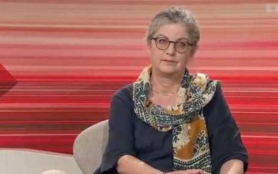 Ina Praetorius, Theologin und Autorin, erinnert gern in intellektueller Überheblichkeitsmanier an den Kampf der Frauen.
